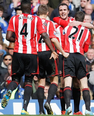 O'Shea rescues point to ease Sunderland relegation fears