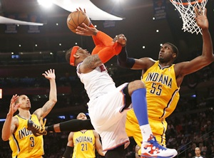 New York Knicks' Carmelo Anthony