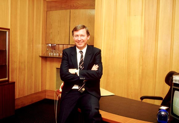 Alex Ferguson in 1984