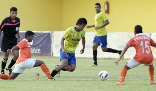 Sporting draw against Mumbai FC