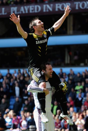 Two-Goal Lampard breaks record as Chelsea triumph