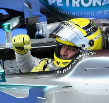 Rediff Sports - Cricket, Indian hockey, Tennis, Football, Chess, Golf - Rosberg leads Mercedes lockout with Spanish pole