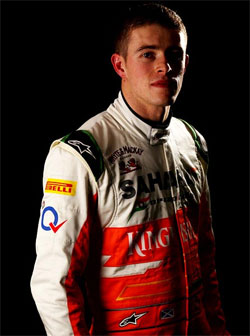 Di Resta earns six points for Force India