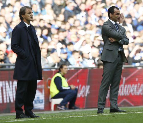 Roberto Mancini and Roberto Martinez