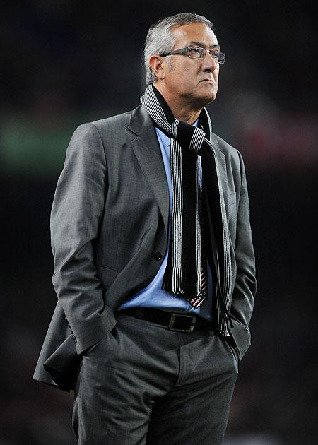 Coach Gregorio Manzano of Mallorca