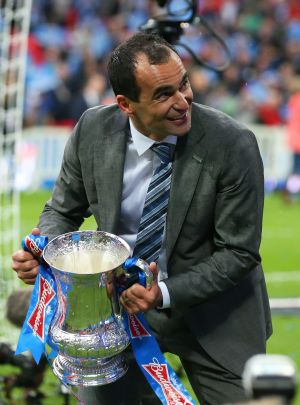 Wigan boss Martinez 'fancies' succeeding Moyes at Everton