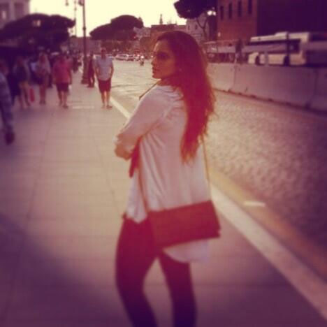 Sania Mirza in Rome