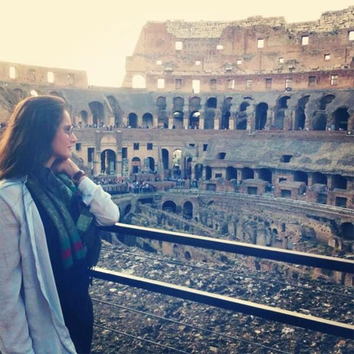 Sania Mirza at the Colosseum