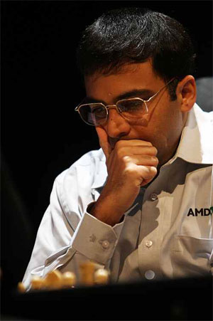 Rediff Sports - Cricket, Indian hockey, Tennis, Football, Chess, Golf - Norway Chess: Another draw for Anand, slips to joint 5th