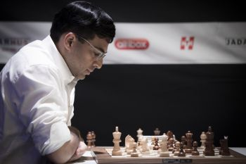 Rediff Sports - Cricket, Indian hockey, Tennis, Football, Chess, Golf - Anand loses to Hao, finishes fourth in Norway Chess