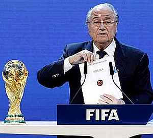 Rediff Sports - Cricket, Indian hockey, Tennis, Football, Chess, Golf - Blatter slams Italy for inadequate fine over Roma racism