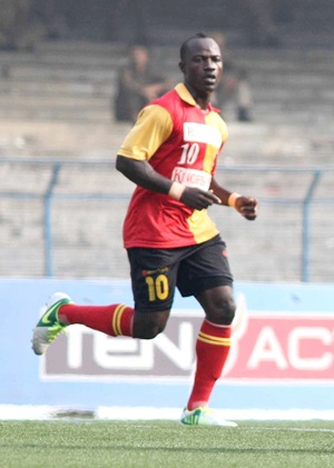 Rediff Sports - Cricket, Indian hockey, Tennis, Football, Chess, Golf - Chidi's 'trick' puts East Bengal in AFC Cup QF