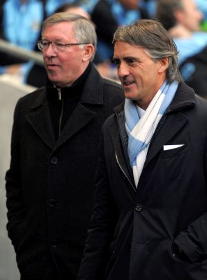 Ferguson criticises City for Mancini sacking