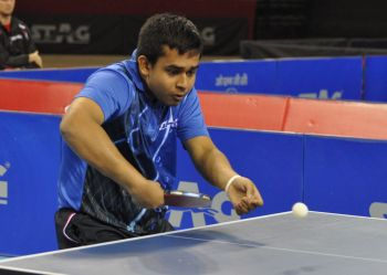 Rediff Sports - Cricket, Indian hockey, Tennis, Football, Chess, Golf - Soumyajit makes the cut at World TT Championships