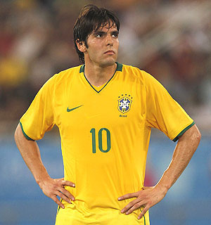 Rediff Sports - Cricket, Indian hockey, Tennis, Football, Chess, Golf - Confederations Cup: Brazil's Kaka, Ronaldinho get axe