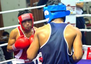 Rediff Sports - Cricket, Indian hockey, Tennis, Football, Chess, Golf - Nanao, Dilbag enter medal rounds of Russian boxing event