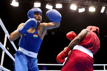 Rediff Sports - Cricket, Indian hockey, Tennis, Football, Chess, Golf - Boxers suffer as IBF upsets AIBA again