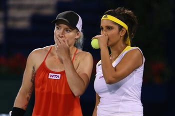 Sania Mirza and Bethanie Mattek-Sands