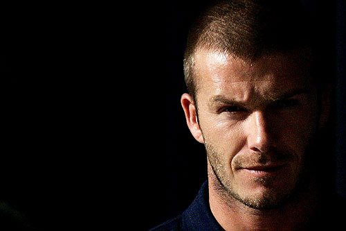 Los Angeles Galaxy's David Beckham