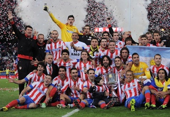 Atletico stun Real to win their 10th King's Cup