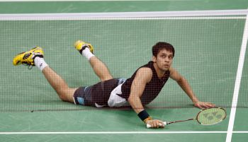 Rediff Sports - Cricket, Indian hockey, Tennis, Football, Chess, Golf - India suffer 0-5 thrashing to China in Sudirman Cup