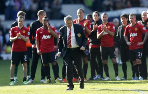 Photos: Ferguson signs off managerial career on a high