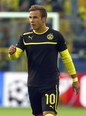 Rediff Sports - Cricket, Indian hockey, Tennis, Football, Chess, Golf - Dortmund's Goetze out of Champions League final