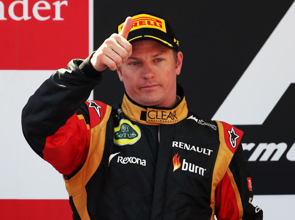 Rediff Sports - Cricket, Indian hockey, Tennis, Football, Chess, Golf - 'Iceman' Raikkonen would rather be left alone