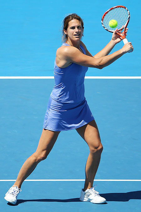 Amelie Mauresmo of France