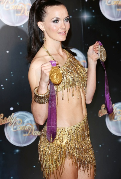 Victoria Pendleton attends the launch of Strictly Come Dancing