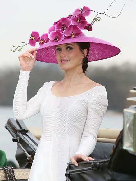 Victoria Pendleton attends a photocall to launch the Royal Ascot 2013 campaign 'The Colour and the Glory'