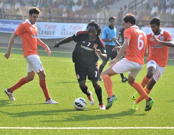 Sporting Clube de Goa beat Pune FC
