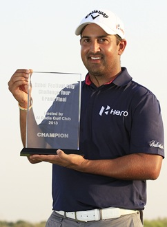 Shiv Kapur wins Dubai City Challenge, gets European tour card