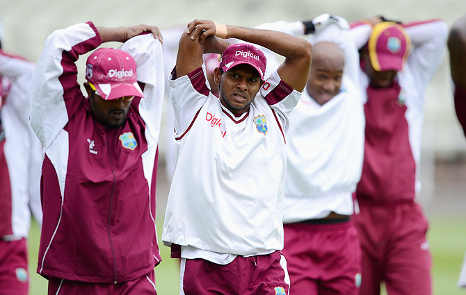 Sivnarine Chanderpaul of West Indies