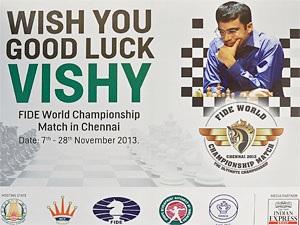 PHOTOS: Chennai wishes Viswanathan Anand good luck
