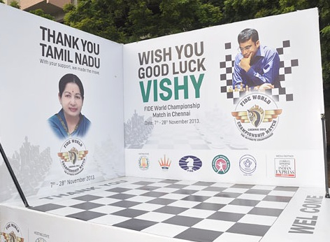 PHOTOS: Chennai wishes Viswanathan Anand good luck