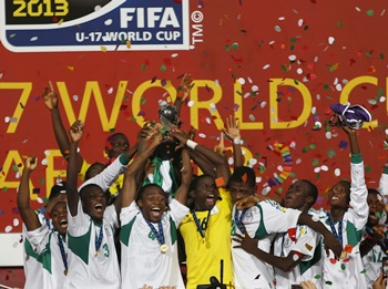 Nigeria crush Mexico to win record fourth under-17 title