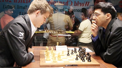World chess championship: Another quick draw by Anand and Carlsen