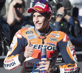 Rookie Marquez becomes youngest world champion