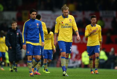 Bendtner 'incredibly disappointed' to stay at Arsenal