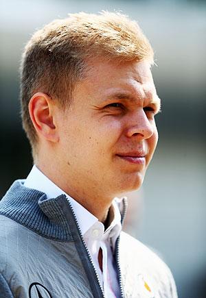 Kevin Magnussen of Denmark