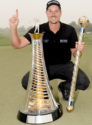 Stenson wins maiden European Order of Merit title