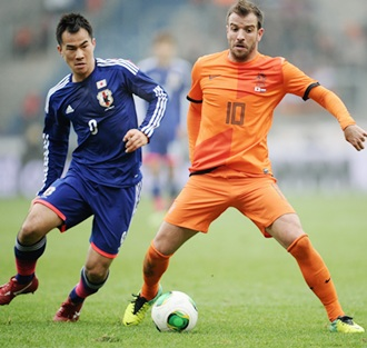 World Cup: Dutch survived Japan fright, says Van der Vaart