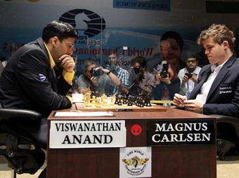 World chess champion: Anand manages draw in Game 7