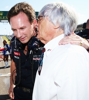Ecclestone says Horner could succeed him