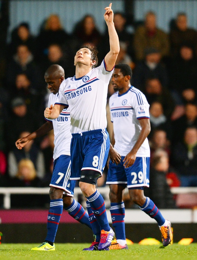 Sweet revenge for Lampard as Chelsea crush West Ham