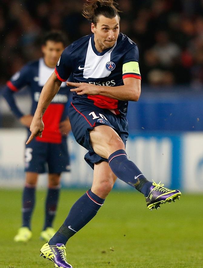Zlatan Ibrahimovic of PSG