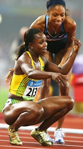 Jamaica's Campbell-Brown escapes ban for positive dope test