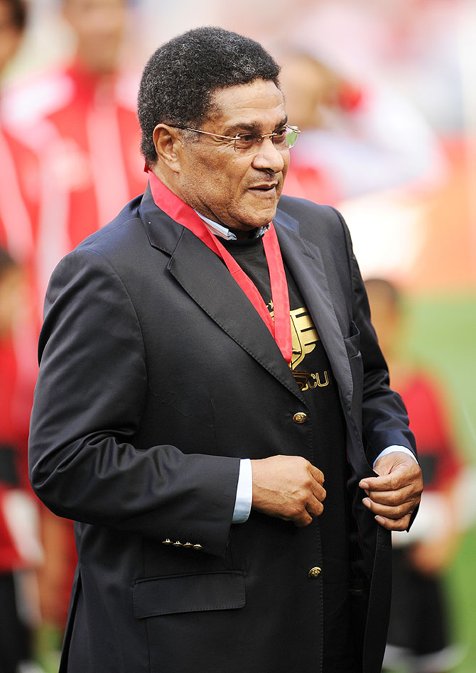 Football legend Eusebio