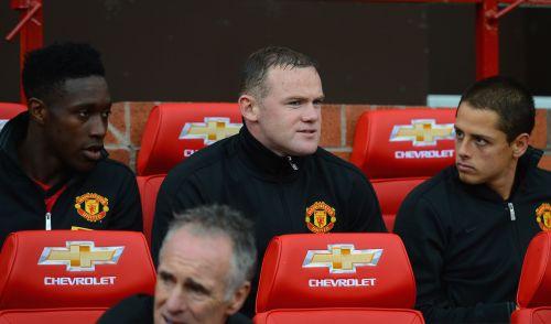 Danny Welbeck, Wayne Rooney and Javier Hernandez